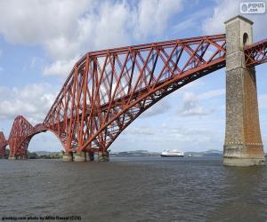 Rompicapo di Forth Bridge, in Scozia
