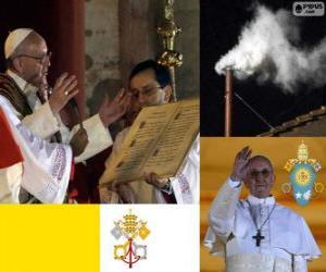 Rompicapo di Francesco I, Jorge Mario Bergoglio è il papa 266° della Chiesa cattolica