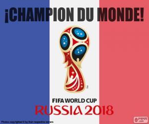 Rompicapo di Francia, campione del mondo 2018
