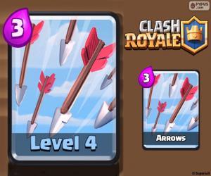 Rompicapo di Frecce di Clash Royale
