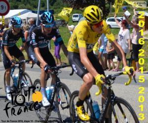 Rompicapo di Froome, Tour del France 2016