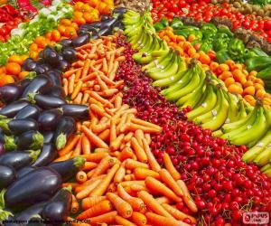 Rompicapo di Frutta e verdura