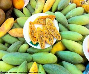 Rompicapo di Frutti di curuba
