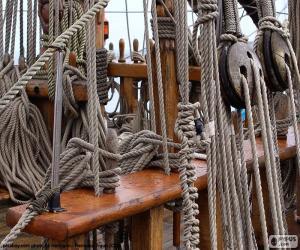 Rompicapo di Funi e carrucole di barca