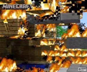 Rompicapo di Fuoco di Minecraft