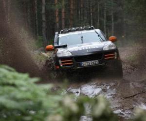 Rompicapo di Fuoristrada - Porsche Cayenne
