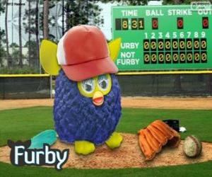 Rompicapo di Furby gioca a baseball