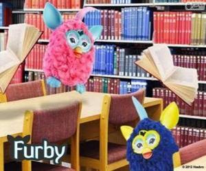 Rompicapo di Furbys nella libreria