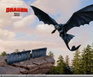 Rompicapo di Furia Buia sono draghi di piccole dimensioni che può volare alto, più veloce e più lontano di qualsiasi altro drago