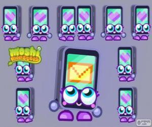 Rompicapo di Gabby è uno dei Moshlings, ha la forma di un iPhone o un iPad. Serie TECNO