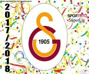 Rompicapo di Galatasaray, Süper Lig 2017-2018