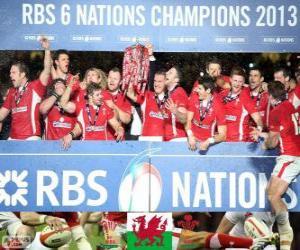 Rompicapo di Gallese campione del Sei Nazioni 2013