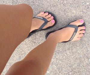 Rompicapo di Gambe e piedi