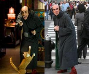Rompicapo di Gargamella e il suo gatto Birba a cercare Puffi per noi a Manhattan