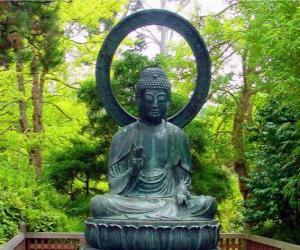 Rompicapo di Gautama Buddha seduto