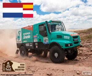 Rompicapo di Gerard de Rooy, Dakar 2016