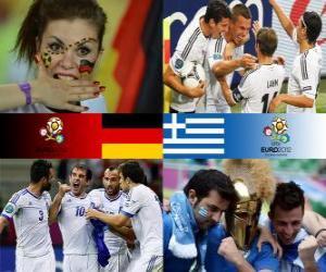 Rompicapo di Germania - Grecia, quarti di finale, Euro 2012