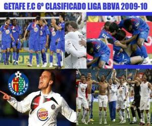Rompicapo di Getafe FC BBVA sesto classificato League 2009-2010
