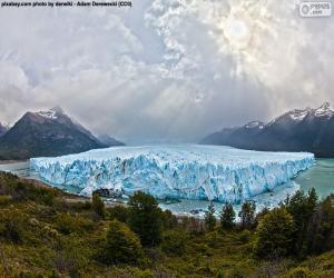 Rompicapo di Ghiacciaio Perito Moreno, Argentina