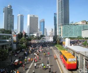 Rompicapo di Giacarta, Indonesia