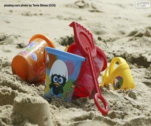 Rompicapo di Giocattoli da spiaggia