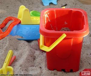 Rompicapo di Giocattoli di sabbia