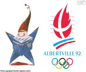 Rompicapo di Giochi olimpici di Albertville 1992
