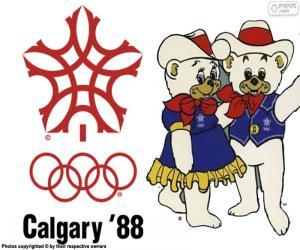 Rompicapo di Giochi olimpici di Calgary 1988