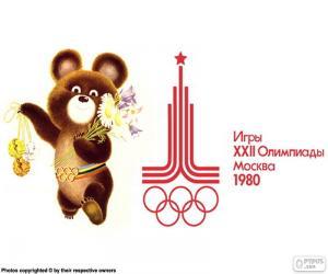 Rompicapo di Giochi olimpici di Mosca 1980