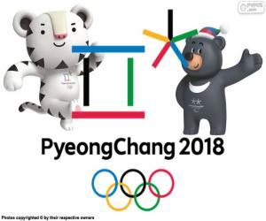Rompicapo di Giochi olimpici di Pyeongchang 2018