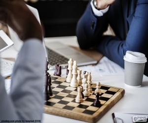 Rompicapo di Gioco di scacchi