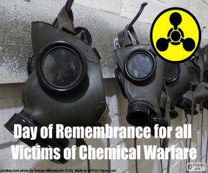 Rompicapo di Giornata della Memoria per le vittime della guerra chimica