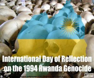 Rompicapo di Giornata di riflessione sul genocidio del Ruanda del 1994
