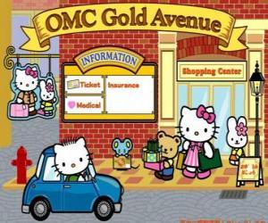 Rompicapo di Giornata di shopping con Hello Kitty e gli amici