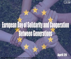 Rompicapo di Giornata europea della solidarietà e della cooperazione tra le generazioni