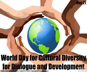 Rompicapo di Giornata globale diversità culturale per il dialogo e lo sviluppo