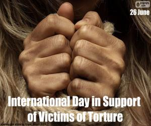 Rompicapo di Giornata internazionale a sostegno delle vittime di tortura