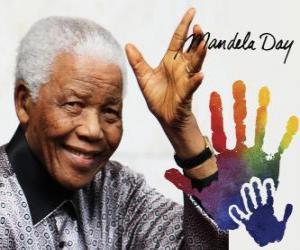 Rompicapo di Giornata Internazionale della Nelson Mandela, il 18 luglio