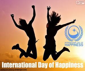 Rompicapo di Giornata internazionale della felicità