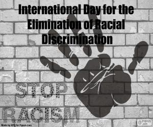 Rompicapo di Giornata internazionale dell'eliminazione della discriminazione razziale