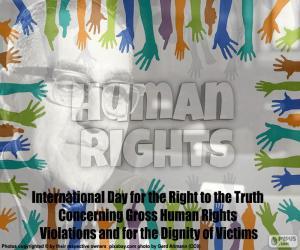 Rompicapo di Giornata internazionale del diritto alla verità
