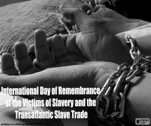 Rompicapo di Giornata Internazionale di commemorazione delle vittime della schiavitù e della tratta transatlantica degli schiavi