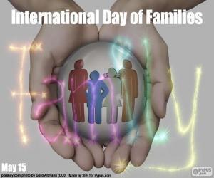 Rompicapo di Giornata internazionale della famiglia