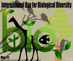 Rompicapo di Giornata internazionale della diversità biologica