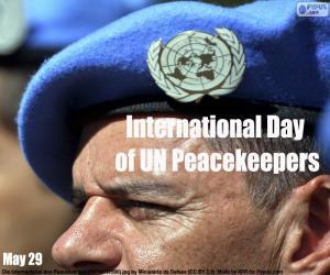 Rompicapo di Giornata Internazionale delle Forze di pace delle Nazioni Unite