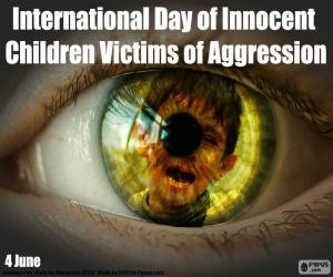 Rompicapo di Giornata internazionale dei bambini innocenti vittime di aggressioni