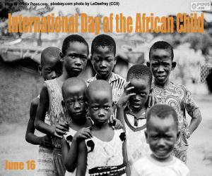 Rompicapo di Giornata internazionale del bambino africano