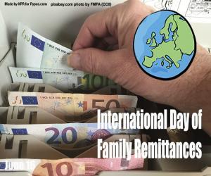 Rompicapo di Giornata internazionale delle rimesse familiari