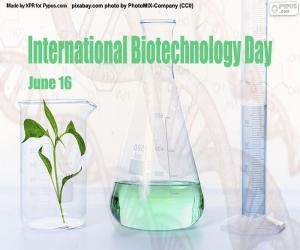 Rompicapo di Giornata internazionale della biotecnologia