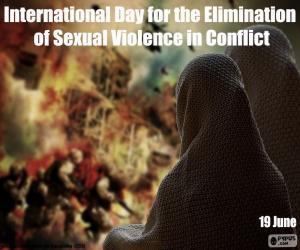 Rompicapo di Giornata internazionale per l'eliminazione della violenza sessuale nei conflitti
